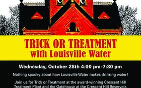 Trick-or-Treatment Haunts Louisville Water Company