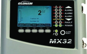 Tyco Oldham MX 32 gas detection controller