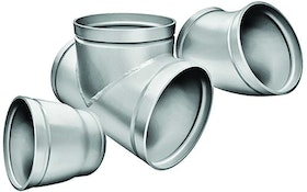 Aeration Equipment - Victaulic AGS stainless steel fittings