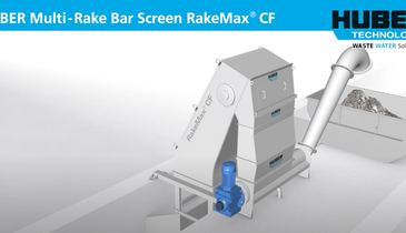 See Inside the HUBER Multi-Rake Bar Screen RakeMax CF