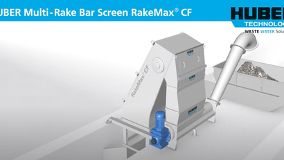 See Inside the HUBER Multi-Rake Bar Screen RakeMax CF