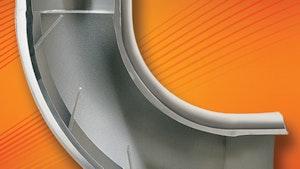 Flow Control and Software - VORTAB Elbow flow conditioner