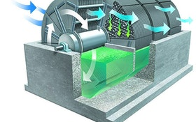 Nutrient Removal - Rotating biological contactor