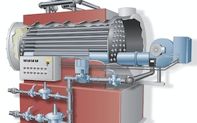 Boiler - Walker Process Equipment, A Div. of McNish Corp., Scotch Marine boiler
