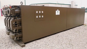 Heat Exchanger/Recovery System - Walker Process Equipment, A Div. of McNish Corp., Sludge-to-Sludge Heat Exchanger