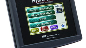 Wanner Engineering Hydra-Cell touch-screen controller