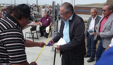 Fort Peck Tribe dedicates water treatment plant