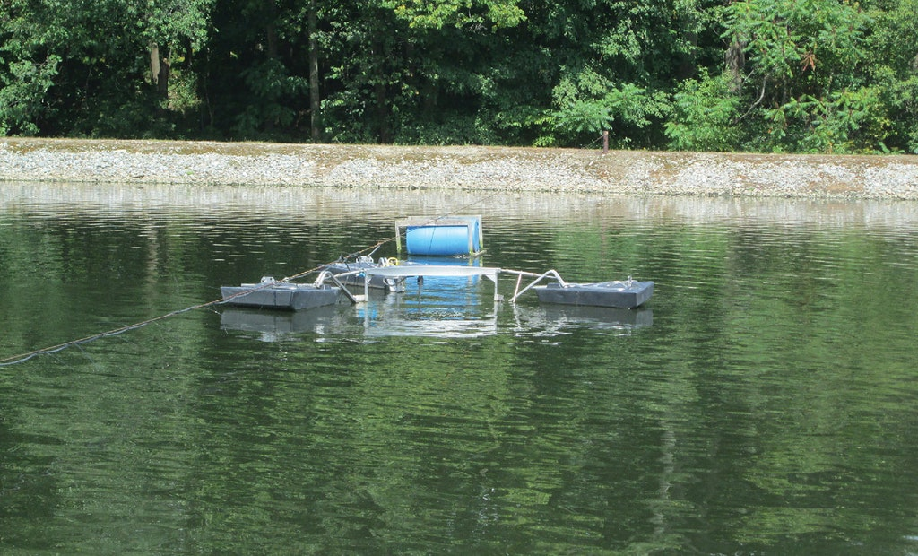 A Low-Powered Electric Mixer Saves Big Money for a Vermont Lagoon Treatment Plant