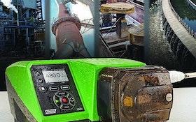 Watson-Marlow peristaltic cased pump