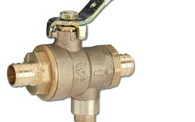 Watts all-in-one ball valve and relief valve