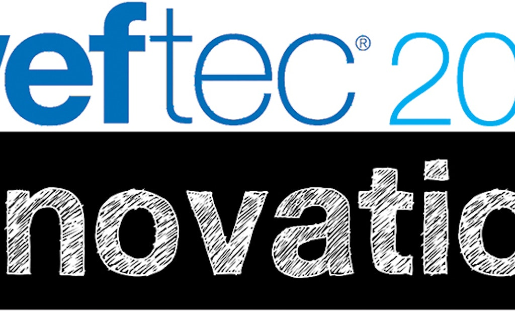 WEFTEC 2014 Innovation: Dewatering Screw Press Reduces Noise and Power Consumption