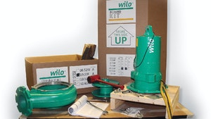 Wilo USA pump parts replacement kit program