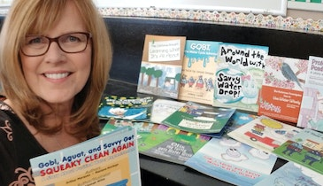Students Turn Water Education Messages Into Storybooks for Kids