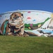 A Concrete Structure Becomes a Public Attraction in a North Carolina Community