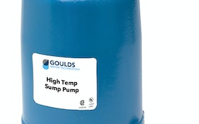 Xylem introduces the Goulds Water Technology submersible high-temp sump pump